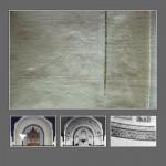 Hinweis auf erhaltene Malereien